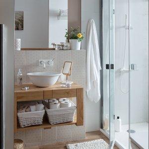 ¿Cómo decorar un baño pequeño?- Rústico o moderno