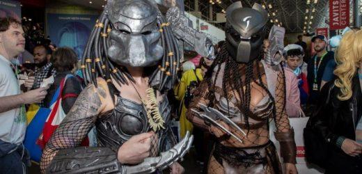 Cientos de cosplayers emocionados se reúnen en el Paso Comic Con 2021